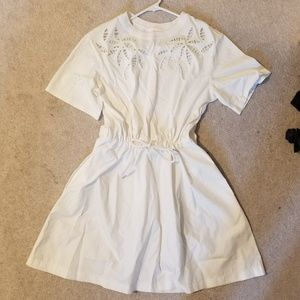 See by chloe size M white dress